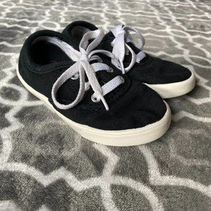 $8 FLASH SALE - Black and White Skippy Sneakers